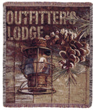 Outfitters Lodge 50 X 60 Tapestry Throw
