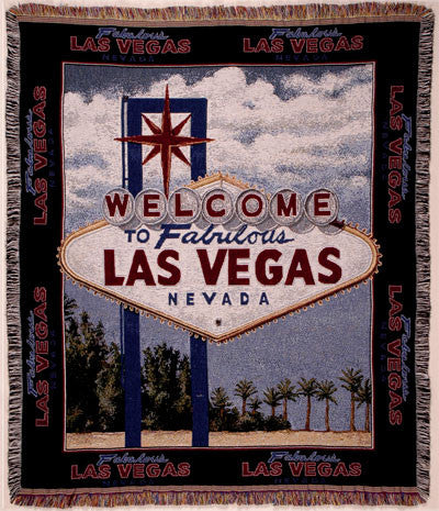 Tapestry - Vegas Sign Throw