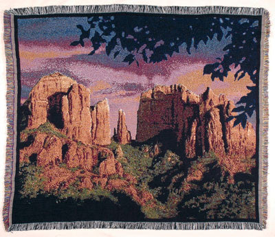 Tapestry - Sedona Sunset Throw