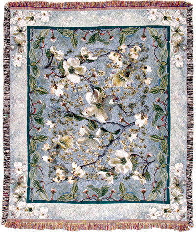 Tapestry - Flowering Dogwood Throw