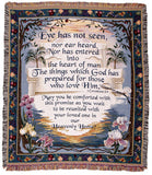 Heavenly Home Tapestry Throw