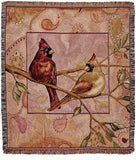Cardinal Companions Tapestry
