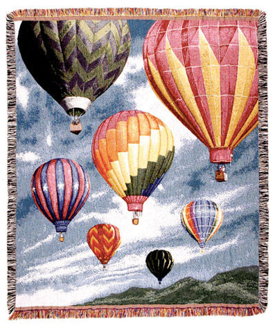 Tapestry - Hot Air Ballons Throw