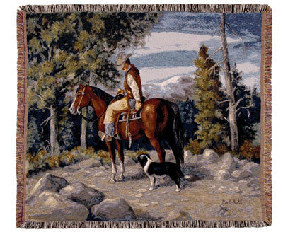 Tapestry - Mountain Rider Throw