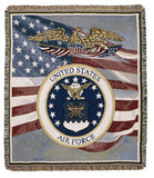 Tapestry - U.S. Air Force Throw