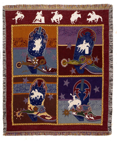 Tapestry - Boots N' Bling Throw