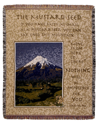 Tapestry - Mustard Seed Throw