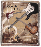 Rock On! Tapestry Throw