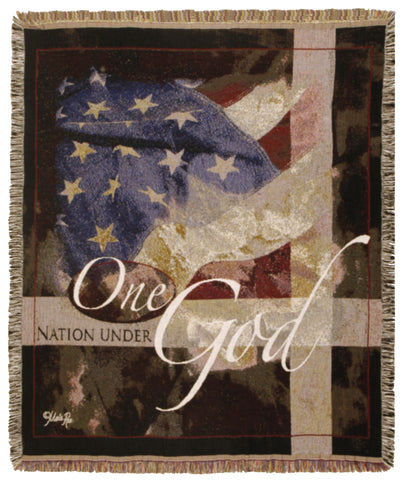 Tapestry - Under God; One Nation Throw