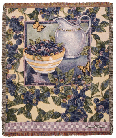 Tapestry - Blueberries Throw