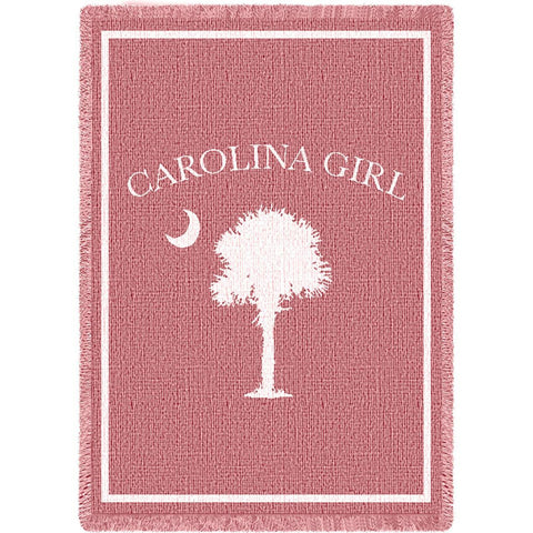 Carolina Girl Pink Small Blanket