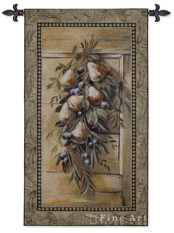 Poetic Pears Wall Tapestry