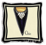Chic Stiletto Pillow