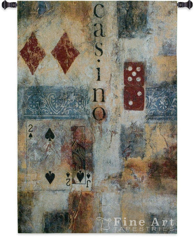 Casino Abstract Wall Tapestry