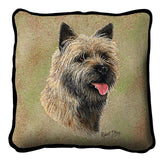 Cairn Terrier 2 Pillow Cover