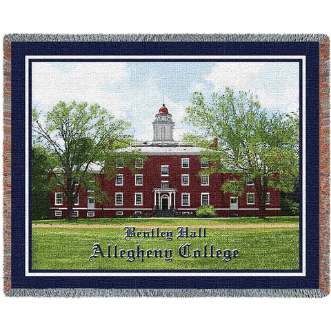 Alleghany College Bentley Hall Stadium Blanket