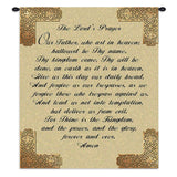 The Lords Prayer Wall Tapestry With Rod