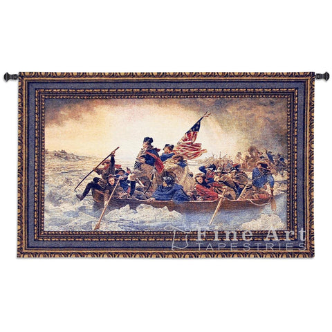 Washington Crossing the Delaware Wall Tapestry
