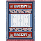 Hockey Field Blanket