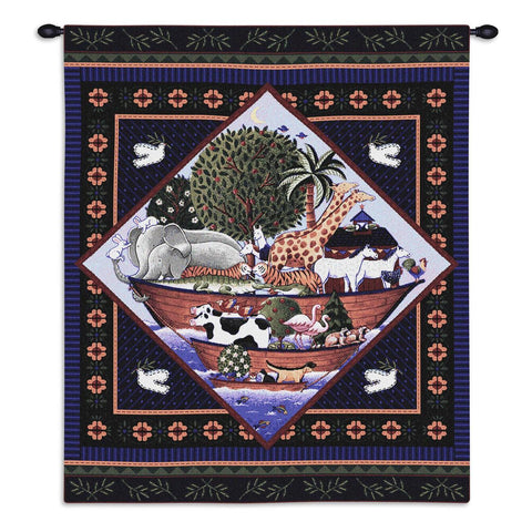 Noahs Ark Coco Wall Tapestry With Rod