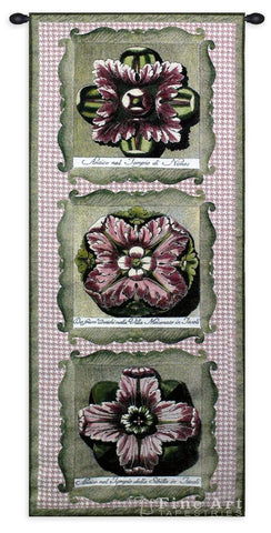 Haute Pink Medallion Tri Wall Tapestry