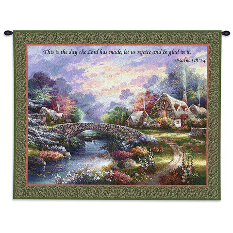 Springtime Glory Wall Tapestry With Rod