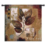 Modernist Autumn Small Wall Tapestry