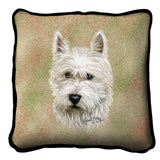 West Highland White Terrier Pillow Cover