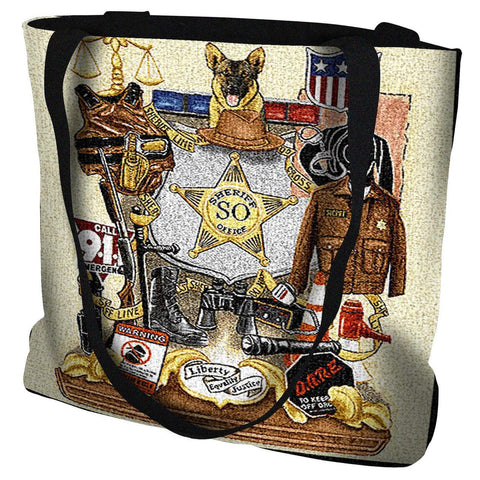 Sheriff Profession Tote Bag