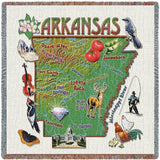 Arkansas State Small Blanket