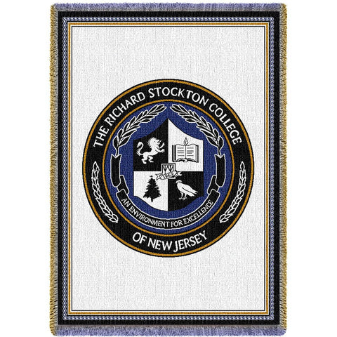 Richard Stockton College of New Jersey Seal Stadium Blanket