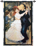 Dance at Bougival Wall Tapestry