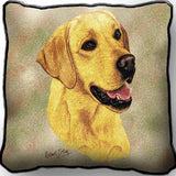 Labrador Retriever Yellow Pillow