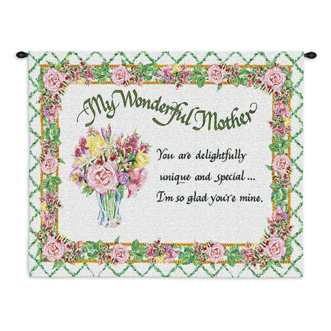 Unique Wonderful Mother Wall Tapestry With Rod