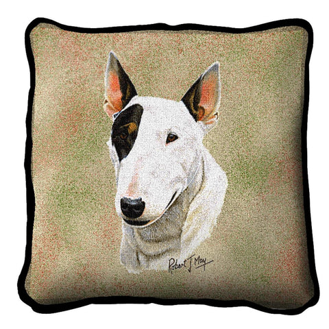 Bull Terrier Pillow Cover