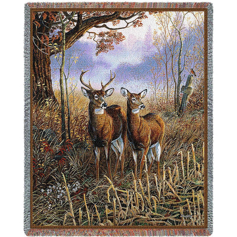 Country Treasures Tapestry Blanket