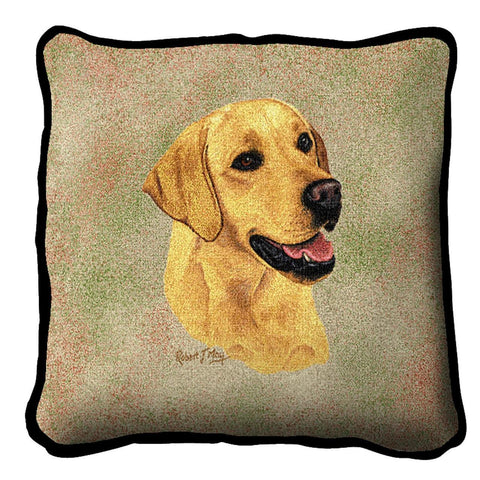 Labrador Retriever Yellow Pillow Cover