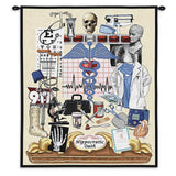 Hippocratic Oath Wall Tapestry With Rod