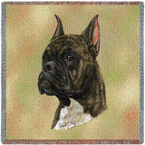 Boxer  Brindle Small Blanket