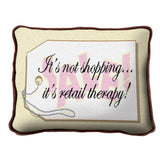 Retail Therapy Pillow