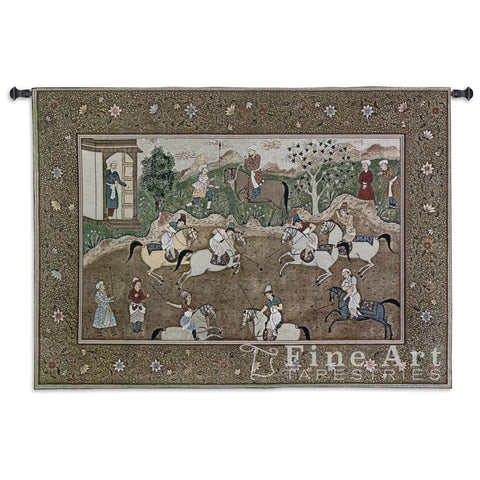 The Polo Match Wall Tapestry
