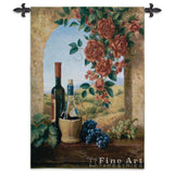 Patio View Wall Tapestry