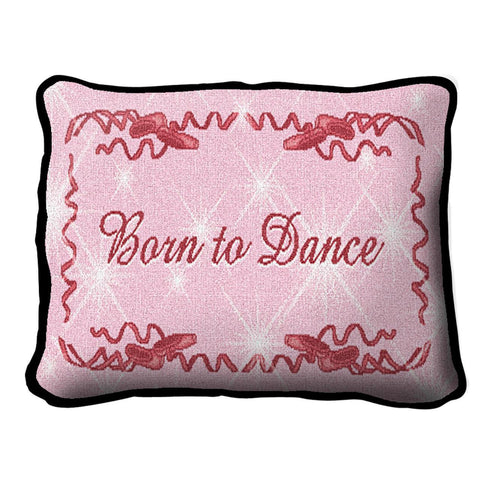 Born To Dance Pillow