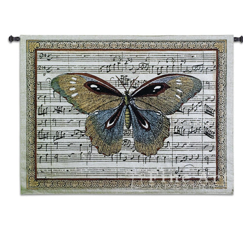 Butterfly Dance I Large Wall Tapestry