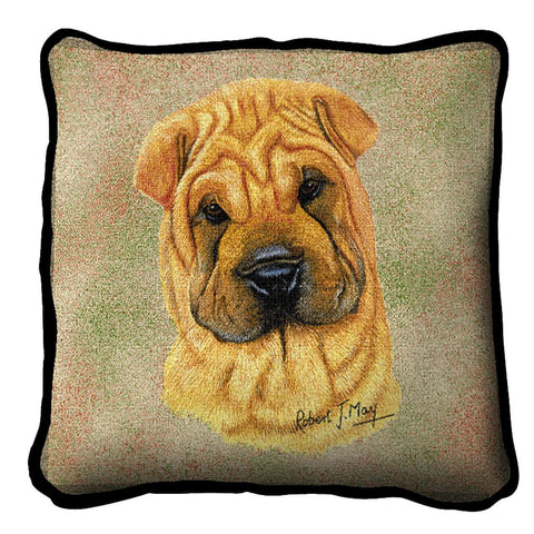 Shar Pei Pillow Cover