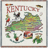Kentucky State Small Blanket
