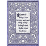 Serenity Prayer Blanket
