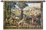 Hunting Parties of Archduke Maximilian Cotton Wall Tapestry