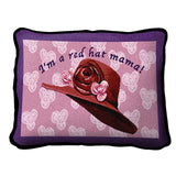 Red Hat Mama Pillow