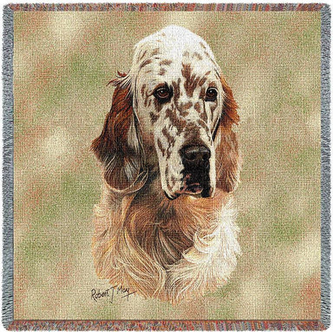 English Setter Small Blanket